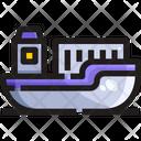 Ship Cargo Shipment Icon