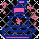 Columbus Day Sail Icon
