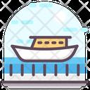 Ship Cruise Sailboat Icon