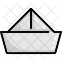 Ship Paper Boat Icon
