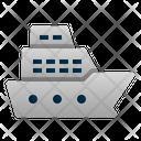 Ship Transportation Vehicle Icon