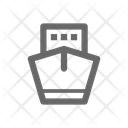 Ship Front View Icon