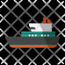 Ship Cruise Transportation Icon
