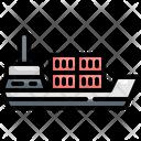 Ship Cargo Transport Icon