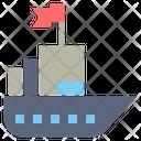 Ship Transportation Commerce Icon