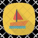 Ship Sailing Boat Icon