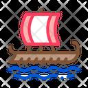 Greek Merchant Ship Icon