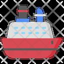 Ship Transport Vehicle Icon