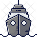 Ship Military Ship Boat Icon