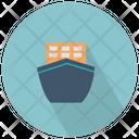 Ship Front View Ship Cruise Icon