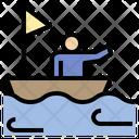 Ship Sail Travel Icon
