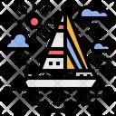 Ship Travel Yatch Icon