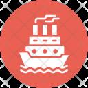 Ship Sail Cruise Icon