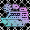 Ship Cruise Boat Icon