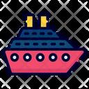 Boat Cruise Transport Icon