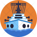 Ship Cruise Transport Icon