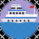 Public Transport Transportation Ship Icon