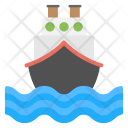 Ship Cruise Travel Icon