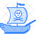 Ship Pirate Seafaring Icon