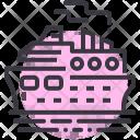 Ship Cruise Ocean Icon