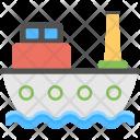 Ship Cargo Voyage Icon