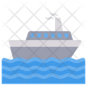Ship Boat Water Icon