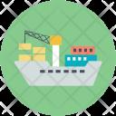 Ship Boat Shipment Icon