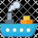 Boat Ocean Sail Icon