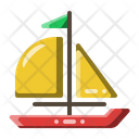 Ship Sailboat Sail Icon