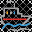 Ship Vessel Watercraft Icon