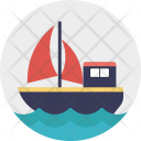 Ship Cruise Yacht Icon