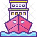 Marientime Shipment Sea Icon