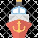 Ship Cargo Sailing Icon
