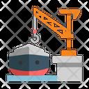 Ship Global Distribution Icon