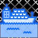 Ship Cargo Container Icon