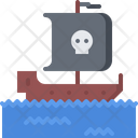 Ship Sea Flag Icon
