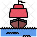 Ship Sea Sail Icon