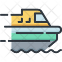 Ship Delivery Logistic Icon