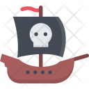 Ship Bandit Pirate Icon