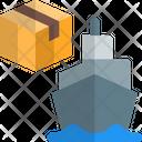 Ship Box Cargo Ship Ship Icon