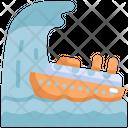 Ship Natural Disaster Disaster Icon