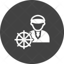 Ship Captain Avatar Icon