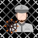 Ship captain Icon