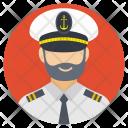 Shipping Ship Pilot Icon