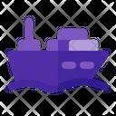 Ship Delivery Icon