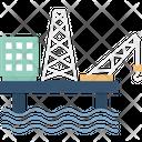 Ship Drilling Icon