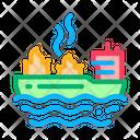 Fire Ship Rescuer Icon
