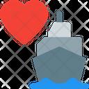 Ship Heart Icon