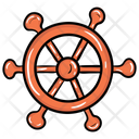 Boat Steering Boat Wheel Ship Wheel Icon
