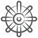 Ship Helm Ship Steering Ship Navigation Icon